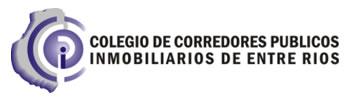 Colegio de Corredores Públicos Inmobiliarios de Entre Ríos